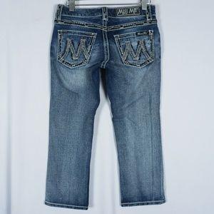 Miss Me M Series Capri Jeans #305